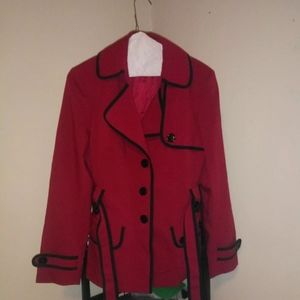 Jackets & Blazers - Nine west black/red suit jacket size 8